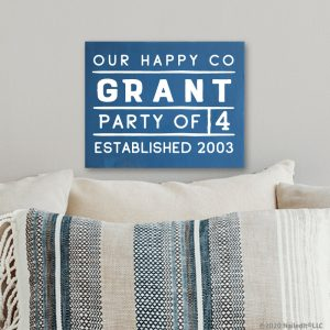 5351 Our Happy Co Name